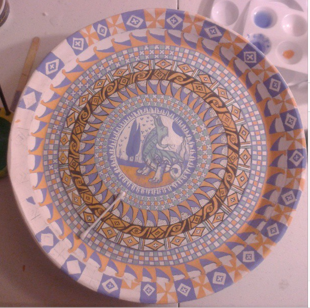 My current maiolica project